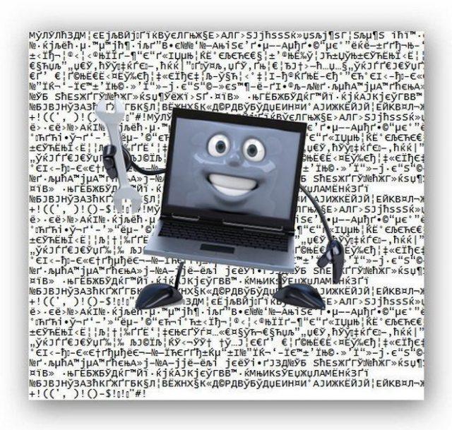 Кракозябры вместо слов и букв | Интернет-профи